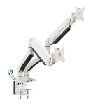 """Siig CE-MT3211-S1 monitor mount / stand 35"""" Clamp/Bolt-through White"""