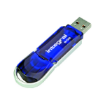 Integral Courier USB flash drive 8 GB USB Type-A 3.0 (3.1 Gen 1) Blue,Silver