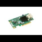 Supermicro AOC-SLG3-2E4 interface cards/adapter mini SAS Intern