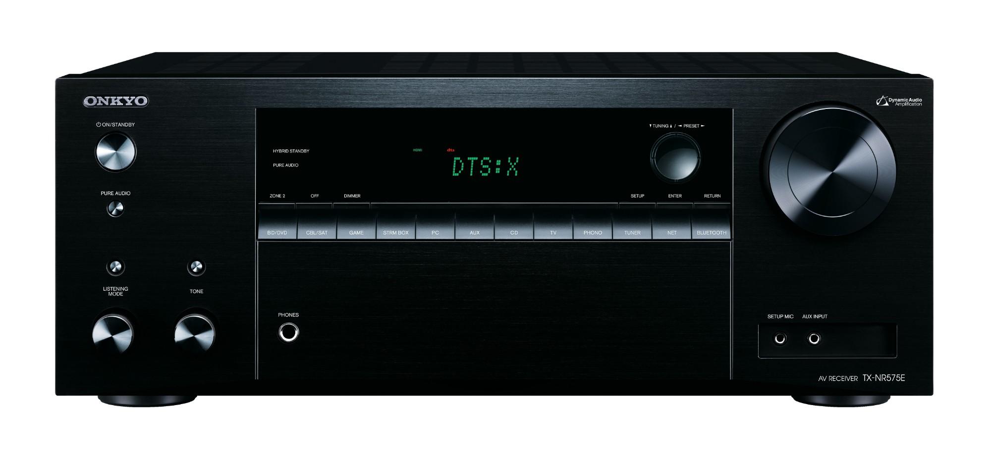 ONKYO TX-NR575E 135W 5.2channels Surround Black AV receiver