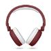 Energy Sistem 445790 auricular y casco Auriculares Diadema Rojo, Blanco