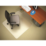 MARBIG CHAIRMAT WIDE WITH KEYHOLE 1160MM X 1520MM