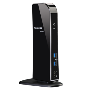 Toshiba Dynadock U3 Wired USB 3.2 Gen 1 (3.1 Gen 1) Type-A Black