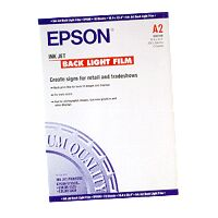 Epson Ink Jet Backlight Film, DIN A2, 170g/m², 10 Sheets