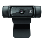 Logitech C920 1920 x 1080pixels USB 2.0 Black webcam
