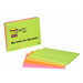 Post-It Super Sticky Notes, 8 in x 6 in, Assorted Bright Colors, 4 Pads/Pack