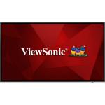 "Viewsonic CDE7520 signage display 190.5 cm (75"") LCD 4K Ultra HD Black Built-in processor"