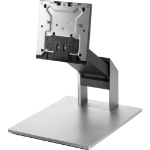 """HP Z9H67AA All-in-One PC/workstation mount/stand Black, Silver 23.8"""""""