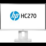 """HP HC270 Healthcare Edition 68.6 cm (27"""") 2560 x 1440 pixels Quad HD LED White"""