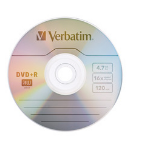 Verbatim 97956 4.7GB DVD+R 10pcs Read/Write DVD