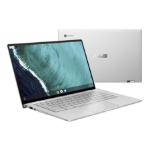 "ASUS Chromebook Flip C434TA-AI0043 Zilver 35,6 cm (14"") 1920 x 1080 Pixels Touchscreen Intel® Core™ M m3-8100Y 4 GB LPDDR3-SDRAM 32 GB eMMC"