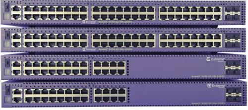 Extreme networks X450-G2-24P-10GE4-BASE Managed L2/L3 Gigabit Ethernet (10/100/1000) Violet 1U Power over Ethernet (PoE)