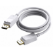 Vision TECHCONNECT 2M DISPLAYPORT CABLE Engineered connectivity solution, White, Displayport 1.2, 4K compli