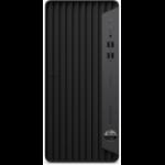 HP ProDesk 400 G7 i7-10700 Micro Tower 10th gen Intel® Core™ i7 16 GB DDR4-SDRAM 512 GB SSD Windows 10 Pro PC Black