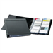 Durable VisiFix A4 20pockets business card file