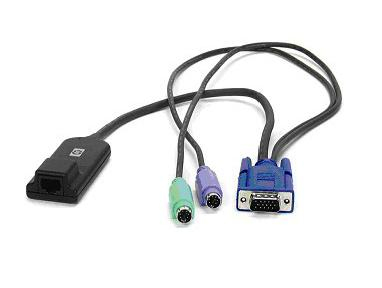 Hewlett Packard Enterprise KVM CAT5 1-pack PS/2 Interface Adapter KVM cable