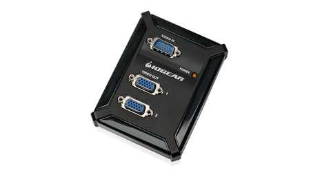 iogear GVS62 video splitter VGA 2x VGA
