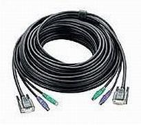 Aten PS/2 , 20m KVM cable Black