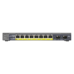 Netgear GS110TP Managed network switch Gigabit Ethernet (10/100/1000) Power over Ethernet (PoE) Black