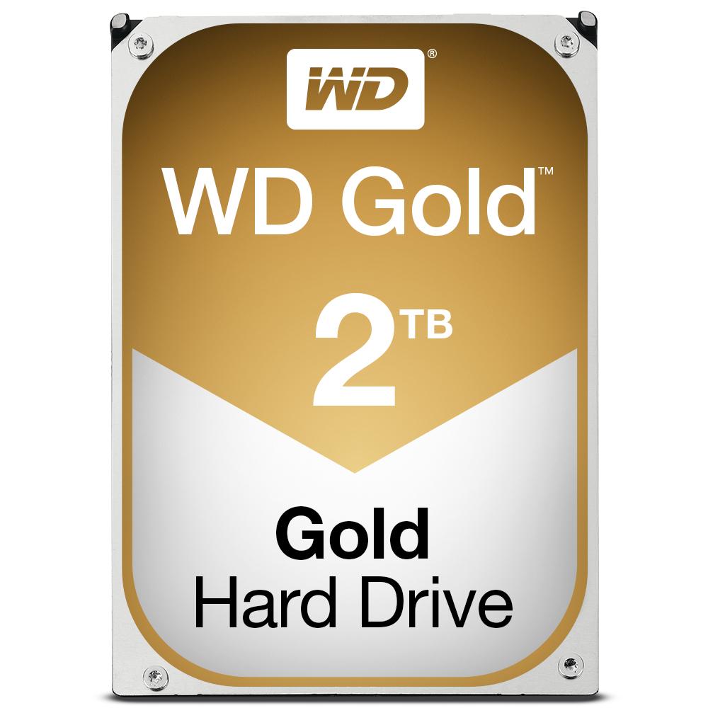 "Western Digital Gold 3.5"" 2000 GB Serial ATA III"