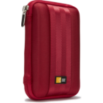 Case Logic QHDC101R storage drive case Sleeve case EVA (Ethylene Vinyl Acetate) Red