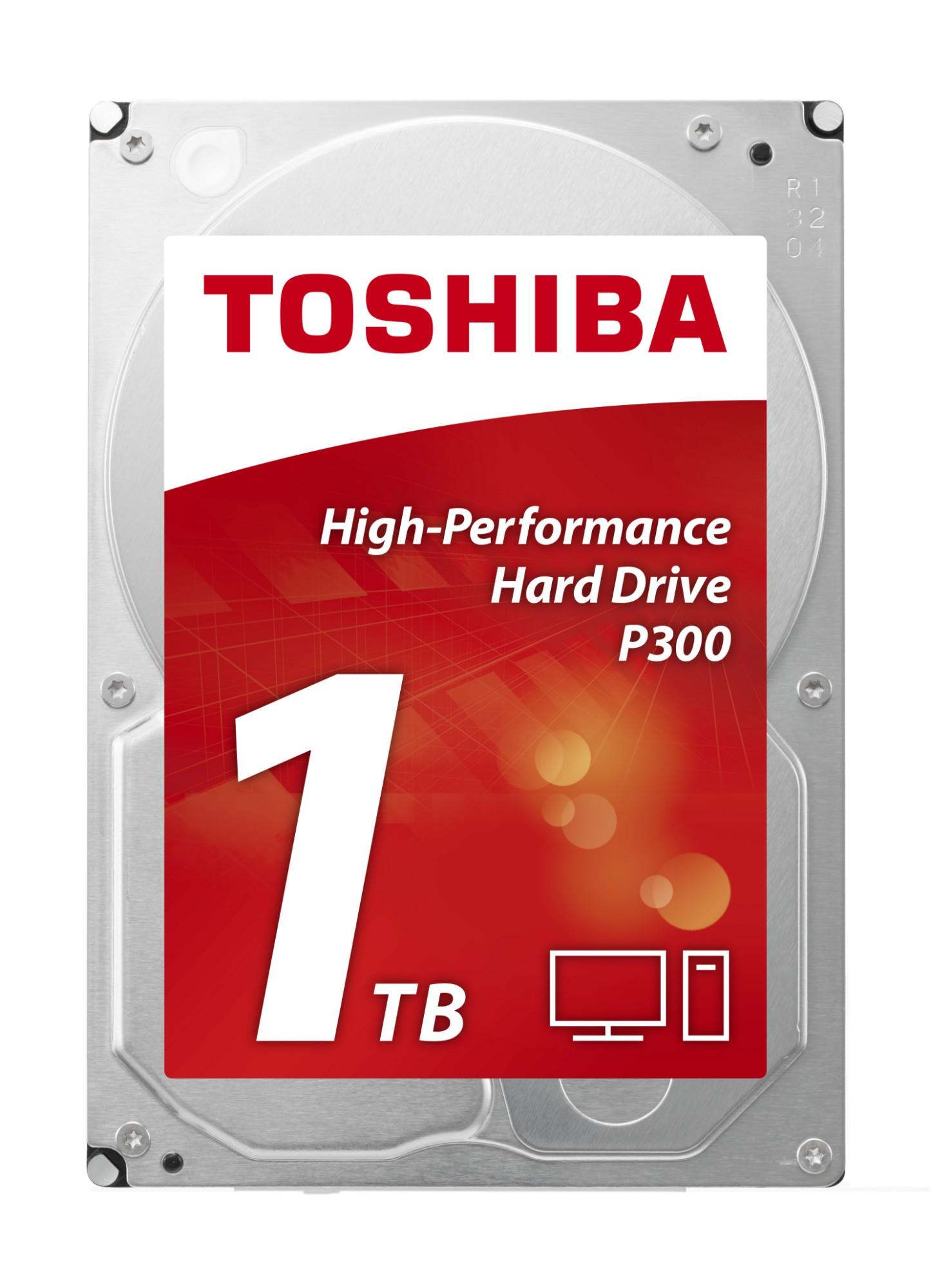 Hard Drive 1TB P300 - High-performance