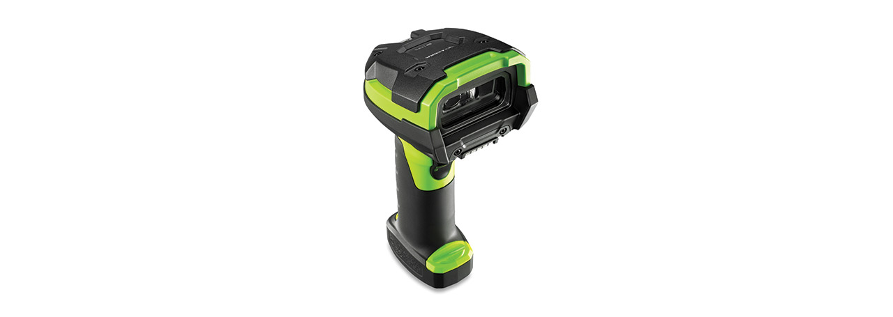 Zebra LI3678 Handheld bar code reader 1D Black, Green