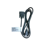 Hewlett Packard Enterprise JL448A cable interface/gender adapter RJ-45 DB9 Black