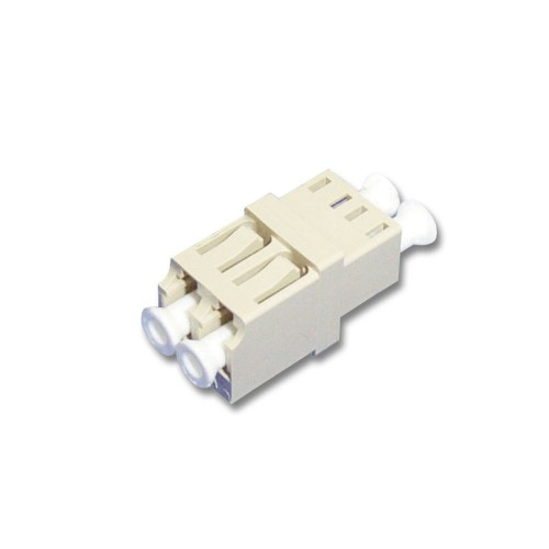 Lindy 70487 fibre optic adapter LC White 1 pc(s)