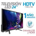 GHIA TELEVISION LED GHIA 24PULG. G24HDX7 HD 720P 1 HDMI/ 1 USB/ 1 VGA/PC 60 HZ