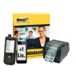 Wasp MobileAsset Pro + HC1 & WPL305 5U bar coding software