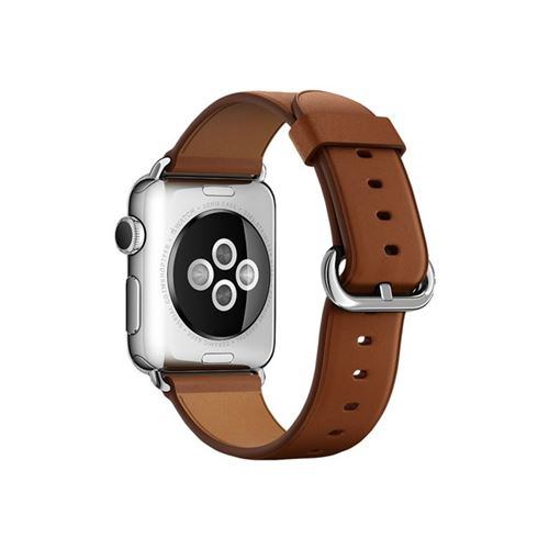 Apple 38mm Classic Buckle - Watch strap - saddle brown - for Watch (38 mm)