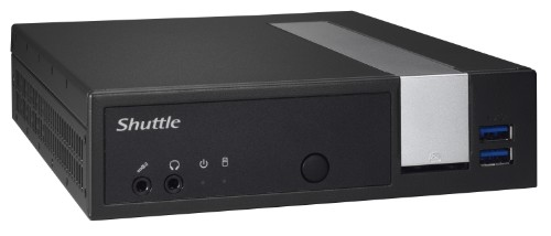 Shuttle XP? slim DX30 J3355 2.00 GHz Nettop Black,Silver BGA 1296