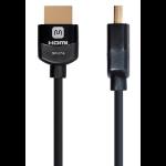 "Monoprice 14131 HDMI cable 300"" (7.62 m) HDMI Type A (Standard) Black"
