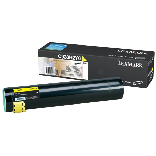 Lexmark C930H2YG Toner yellow, 24K pages