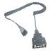 Honeywell MX7060CABLE adaptador de cable LXE 4-pin QX Gris