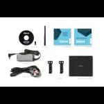 Zotac ZBOX CI523 Nano 2.3GHz i3-6100U BGA1356 1L sized PC Black