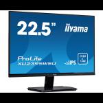 """iiyama ProLite XU2395WSU-B1 LED display 57.1 cm (22.5"""") WUXGA Flat Matt Black"""