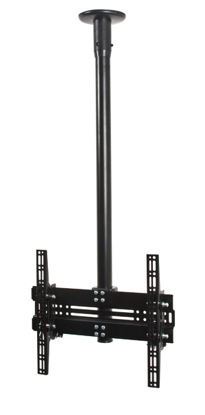 "B-Tech FBT8424 55"" Black flat panel ceiling mount"