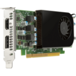 HP AMD Radeon RX550X 4GB LP DisplayPort Card