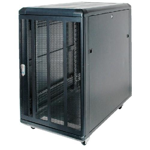 RackSolutions RACK-151-27U rack cabinet Freestanding rack Black
