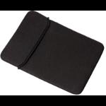 """eSTUFF ES1587B-BULK notebook case 29.5 cm (11.6"""") Pouch case Black"""