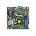 Supermicro X11SSZ-F server/workstation motherboard Intel® C236 LGA 1151 (Socket H4) micro ATX