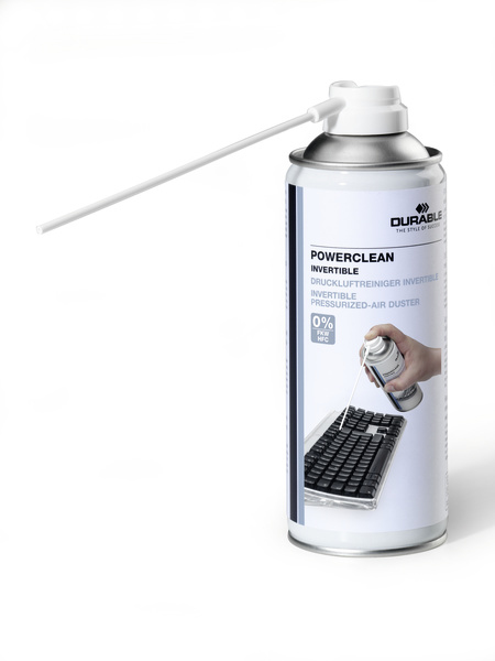 Durable POWERCLEAN compressed air duster 200 ml