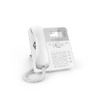 Snom D717 IP phone White Wired handset TFT
