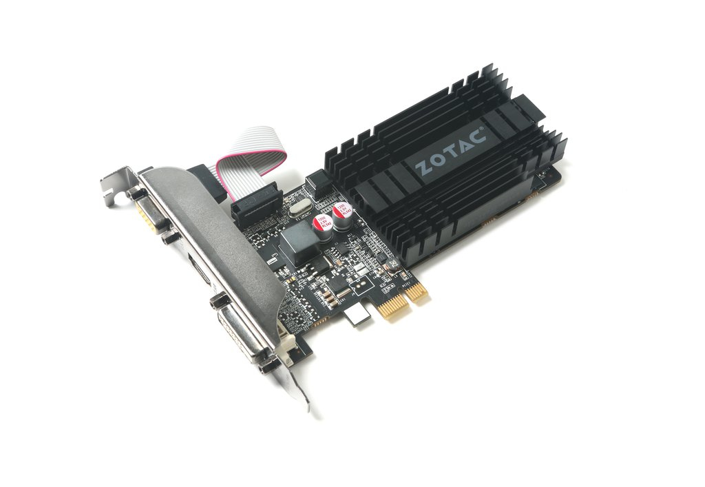 Zotac ZT-71304-20L graphics card NVIDIA GeForce GT 710 1 GB GDDR3