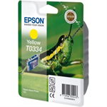 Epson C13T03344010 (T0334) Ink cartridge yellow, 440 pages, 17ml