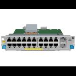 Hewlett Packard Enterprise 20p GT PoE+ / 2p SFP+ v2 zl Module Gigabit Ethernet network switch module