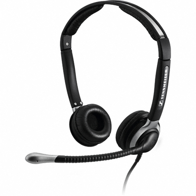 Sennheiser CC 520 Binaural Head-band Black headset