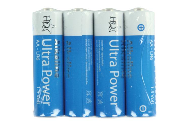 NEDIS HQ Alkaline AA Batteries 1.5V 4Pk